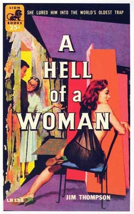 A Hell of a Woman - 11 x 17 Retro Book Cover Poster