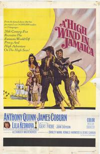 A High Wind in Jamaica - 11 x 17 Movie Poster - Style A