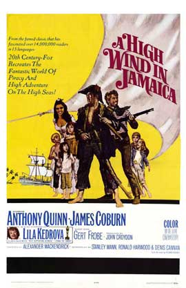 A High Wind in Jamaica - 27 x 40 Movie Poster - Style A