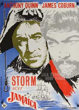A High Wind in Jamaica - 11 x 17 Movie Poster - Danish Style A