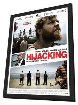 A Hijacking - 27 x 40 Movie Poster - French Style A - in Deluxe Wood Frame