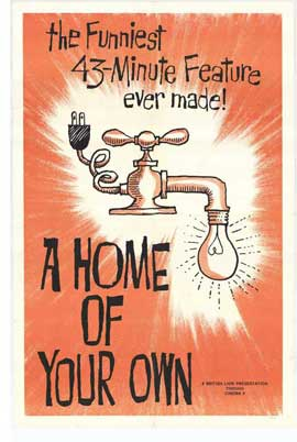 A Home of Your Own - 11 x 17 Movie Poster - Style A