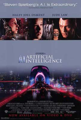 A. I.: Artificial Intelligence - 11 x 17 Movie Poster - Style B