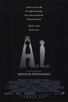 A. I.: Artificial Intelligence - 11 x 17 Movie Poster - Style A