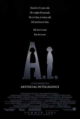 A. I.: Artificial Intelligence - 27 x 40 Movie Poster - Style A