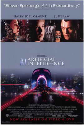 A. I.: Artificial Intelligence - 27 x 40 Movie Poster - Style B