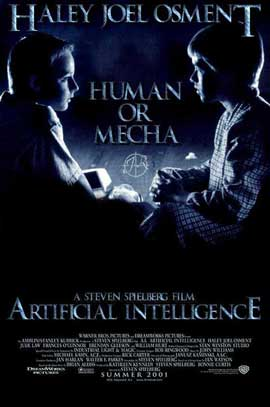 A. I.: Artificial Intelligence - 27 x 40 Movie Poster - Style C
