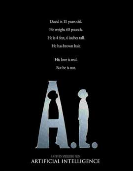 A. I.: Artificial Intelligence - 11 x 17 Movie Poster - Style D