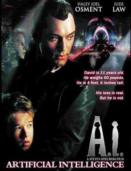 A. I.: Artificial Intelligence - 11 x 17 Movie Poster - Style E