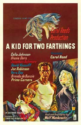 A Kid for Two Farthings - 11 x 17 Movie Poster - UK Style A
