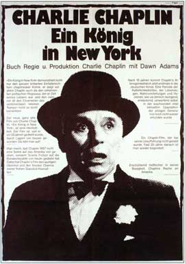 A King in New York - 11 x 17 Movie Poster - German Style A