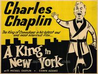 A King in New York - 22 x 28 Movie Poster - Half Sheet Style A