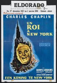 A King in New York - 27 x 40 Movie Poster - Belgian Style A