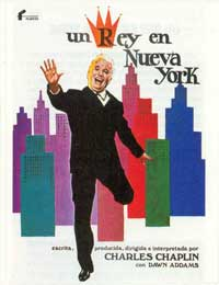 A King in New York - 11 x 17 Movie Poster - Spanish Style A