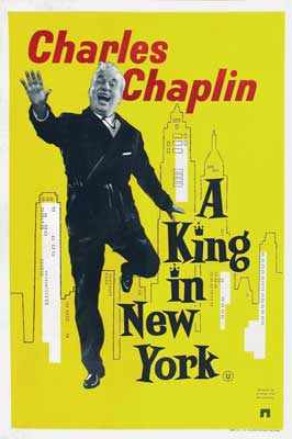 A King in New York - 11 x 17 Movie Poster - UK Style A