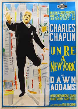 A King in New York - 11 x 17 Movie Poster - Italian Style A