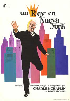 A King in New York - 27 x 40 Movie Poster - Spanish Style A