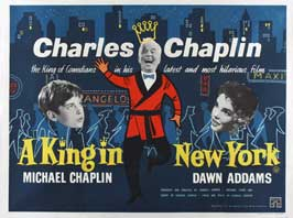 A King in New York - 30 x 40 Movie Poster UK - Style A