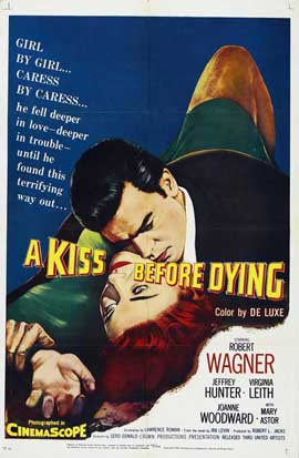 A Kiss Before Dying - 11 x 17 Movie Poster - Style A