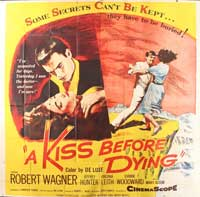 A Kiss Before Dying - 30 x 30 Movie Poster - Style A