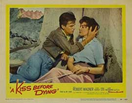 A Kiss Before Dying - 11 x 14 Movie Poster - Style C