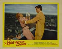 A Kiss Before Dying - 11 x 14 Movie Poster - Style E