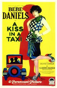 A Kiss In A Taxi - 43 x 62 Movie Poster - Bus Shelter Style A