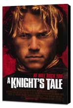 A Knight's Tale - 27 x 40 Movie Poster - Style A - Museum Wrapped Canvas