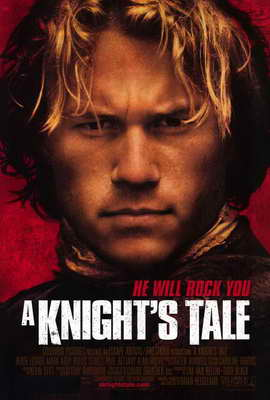 A Knight's Tale - 27 x 40 Movie Poster - Style A