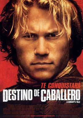 A Knight's Tale - 11 x 17 Movie Poster - Spanish Style A