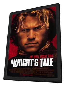 A Knight's Tale - 11 x 17 Movie Poster - Style A - in Deluxe Wood Frame