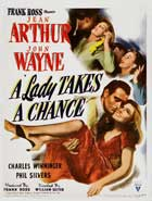 A Lady Takes a Chance - 11 x 17 Movie Poster - Style B