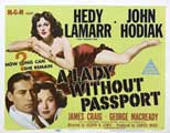 A Lady Without Passport - 22 x 28 Movie Poster - UK Style A