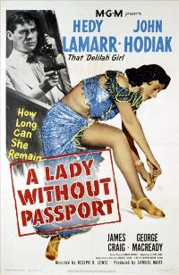 A Lady Without Passport - 27 x 40 Movie Poster - Style B