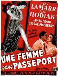 A Lady Without Passport - 11 x 17 Movie Poster - Belgian Style A