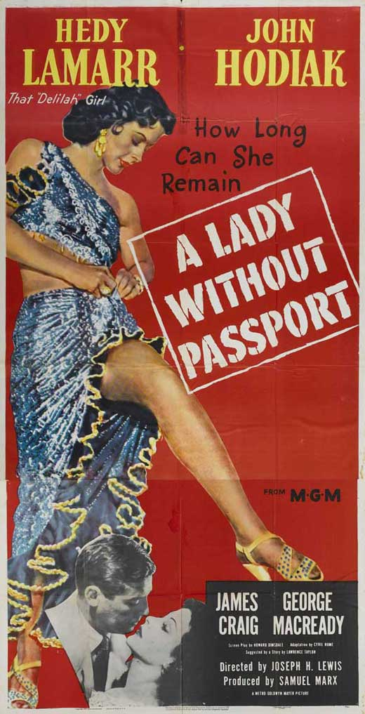 A Lady Without Passport Movie Posters From Movie Poster Shop