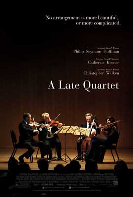 A Late Quartet - 27 x 40 Movie Poster - Style A