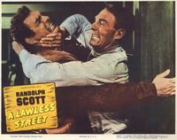 A Lawless Street - 11 x 14 Movie Poster - Style A