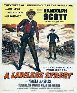 A Lawless Street - 11 x 17 Movie Poster - Style B