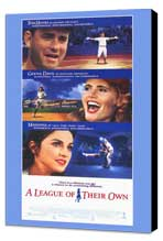 A League of Their Own - 11 x 17 Movie Poster - Style C - Museum Wrapped Canvas