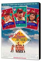 A League of Their Own - 27 x 40 Movie Poster - Style A - Museum Wrapped Canvas