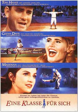 A League of Their Own - 11 x 17 Movie Poster - German Style A