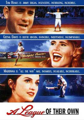 A League of Their Own - 27 x 40 Movie Poster - Style C