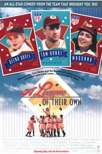 A League of Their Own - 11 x 17 Movie Poster - Style A - Museum Wrapped Canvas