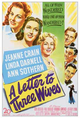 A Letter to Three Wives - 27 x 40 Movie Poster - Style A