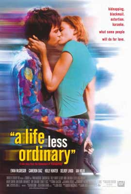 A Life Less Ordinary - 27 x 40 Movie Poster - Style A