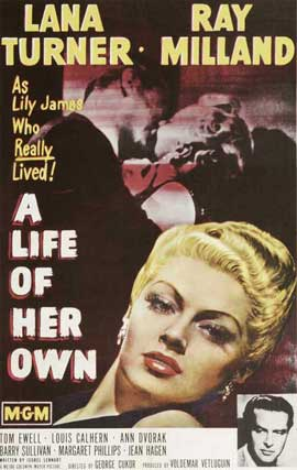 A Life of Her Own - 27 x 40 Movie Poster - Style B
