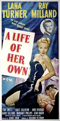A Life of Her Own - 20 x 40 Movie Poster - Style A