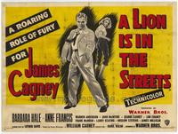 A Lion Is in the Streets - 27 x 40 Movie Poster - Style A