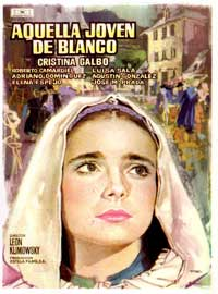 A Little Maiden in White - 11 x 17 Movie Poster - Spanish Style A
